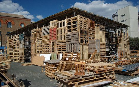 Pallets For People: A Cheap and Ubiquitous Building Material .