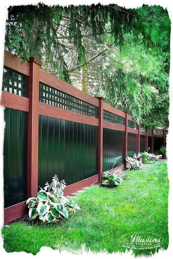 DIY Backyard Fancy Fence Ideas ! #backyard • Some of these DIY .