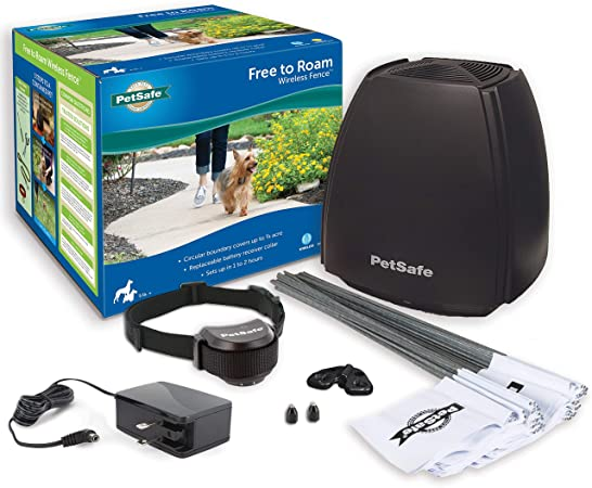 Amazon.com : PetSafe Free to Roam Dog and Cat Wireless Fence .