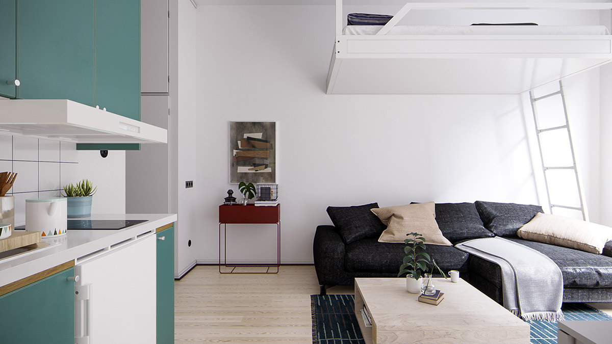 Ideas for city apartments: How to improve   small spaces