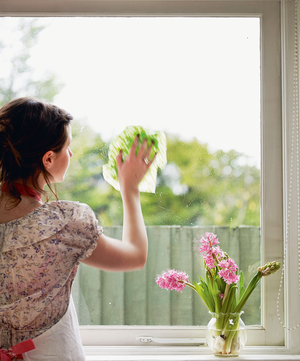Clean windows: the secret of a brighter   home