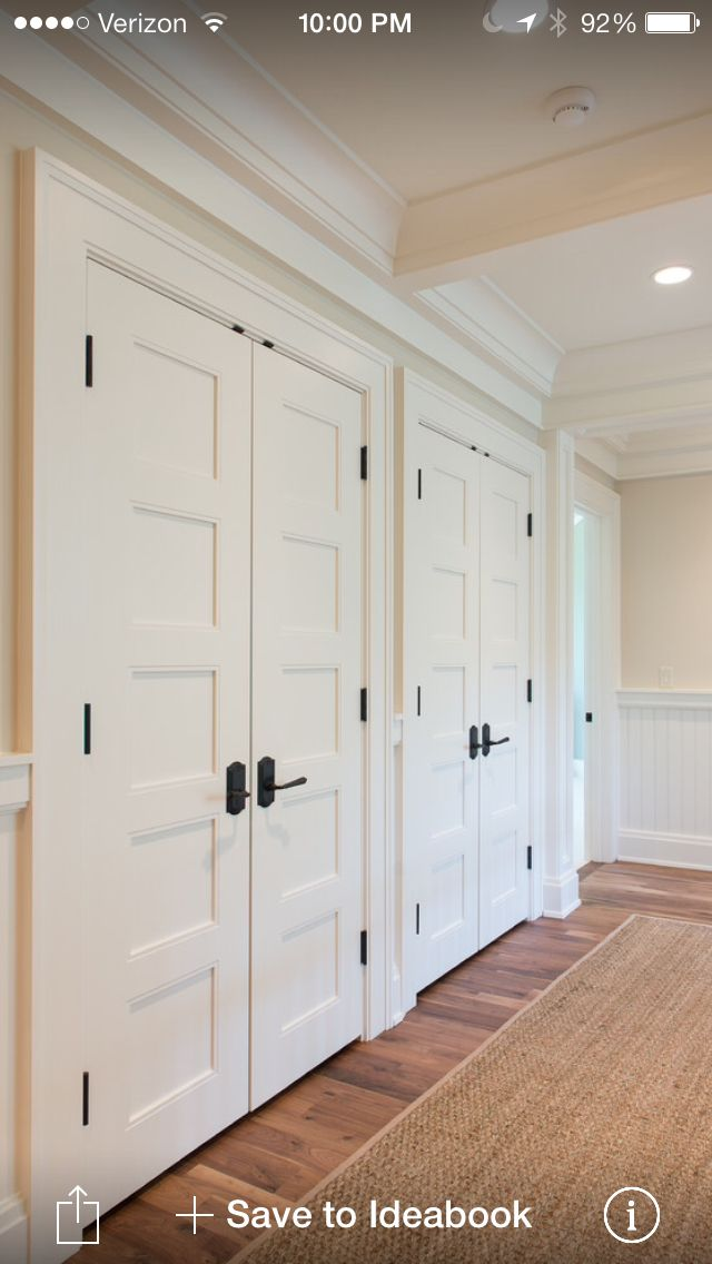 Ideas for closet doors that you should   try in your room