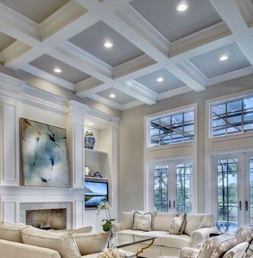 Top 50 Best Coffered Ceiling Ideas - Sunken Panel Designs | Home .