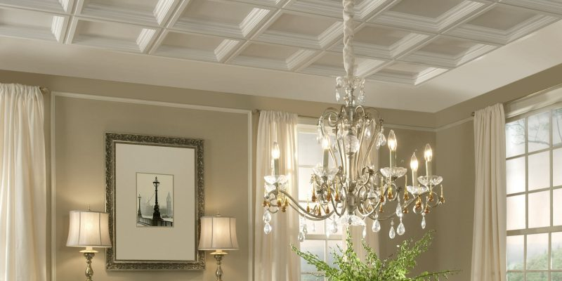 Great coffered ceiling ideas to try and   the cost involved