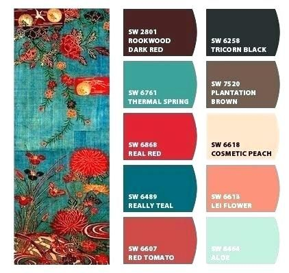 Colors That Go With Teal Color Schemes For Colored Walls Surpass .