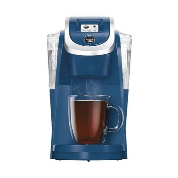 Shop Keurig K250 Single Serve K-Cup Pod Coffee Maker (Denim Blue .