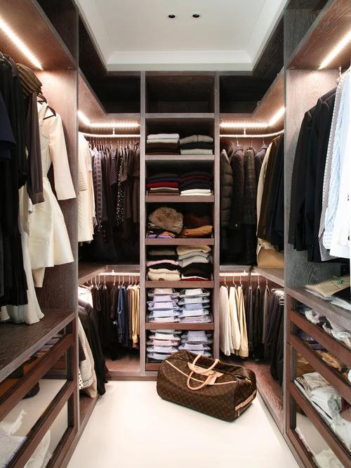 75 Cool Walk-In Closet Design Ideas - Shelterne