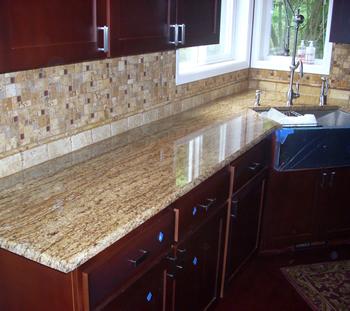 Kitchen, Bathroom Countertops - Granite, Stone, Corian, Laminates .
