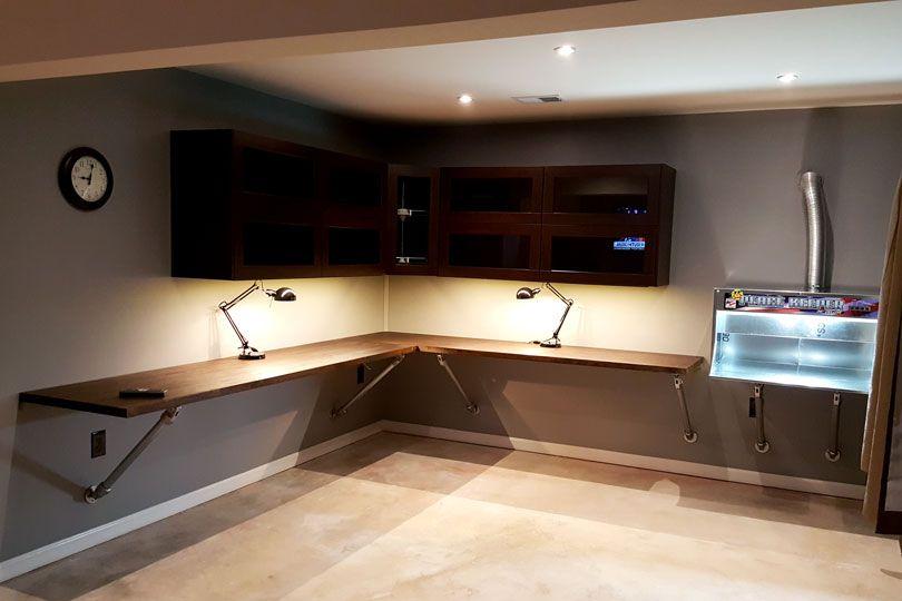 17 DIY Corner Desk Ideas to Build for Your Office   Diy corner .