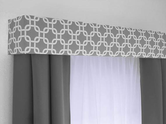 Custom Cornice Board Valance Box Window Treatment Custom | Et