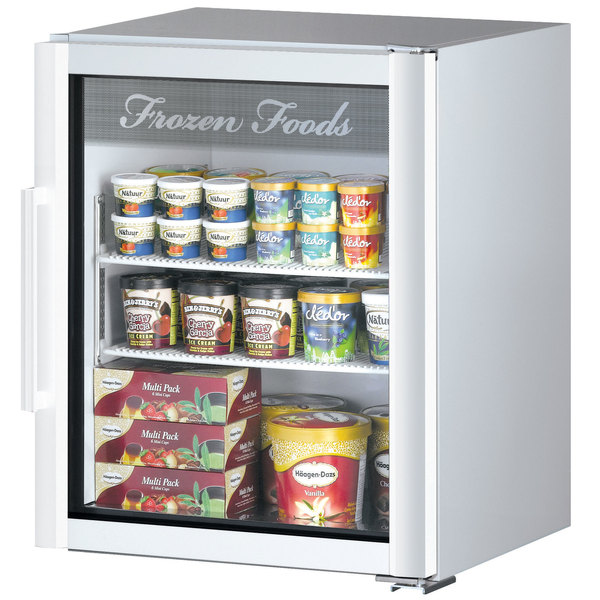 Turbo Air TGF-5SDW-N Super Deluxe White Countertop Display .