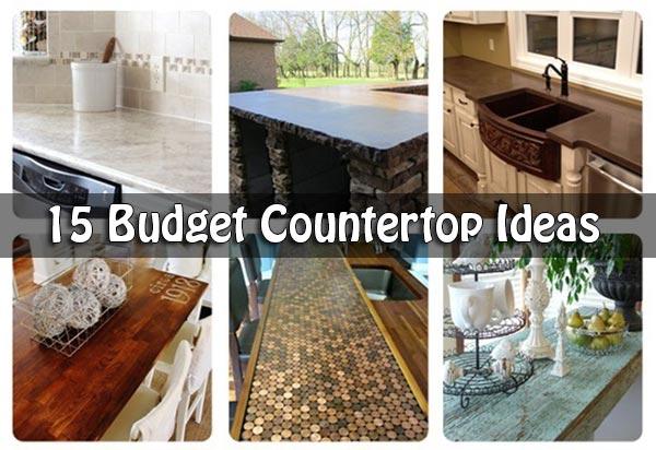 15 Budget Countertop Ide
