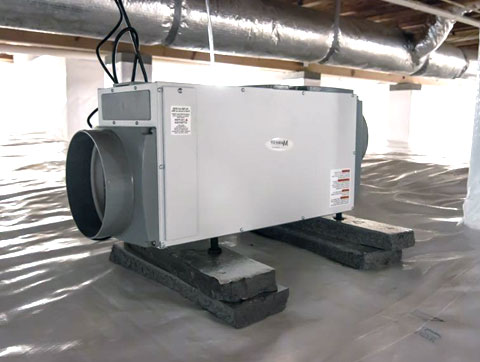 Crawl Space Dehumidifiers - The Fresh Air Compani
