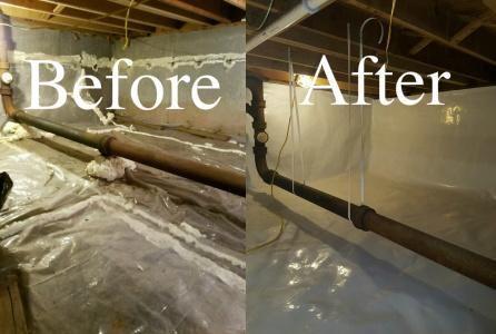 Crawl Space Encapsulation & Repair: Lunenburg, MA | Premier .