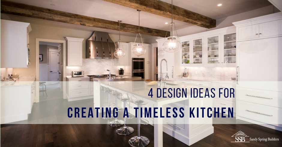 4 Design Ideas for Creating a Timeless White Kitchen | Sandy .