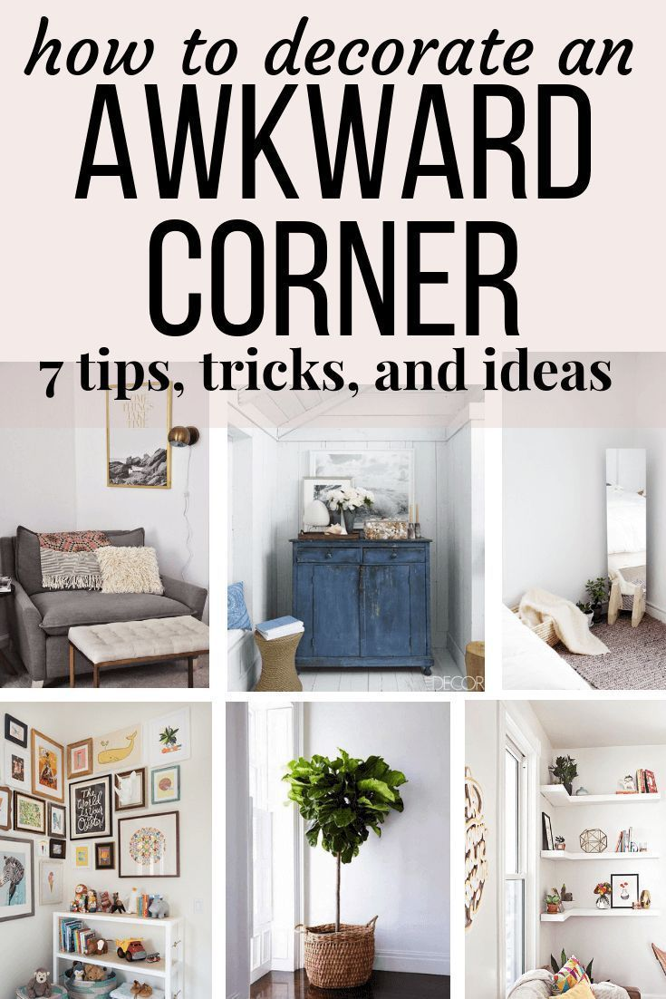 Creative Corners: 4 Uses For The Empty   Corners In Your Home