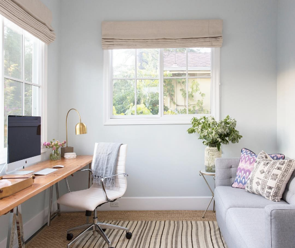 Best Home Office Decorating Ideas On Instagram | Domino | Small .