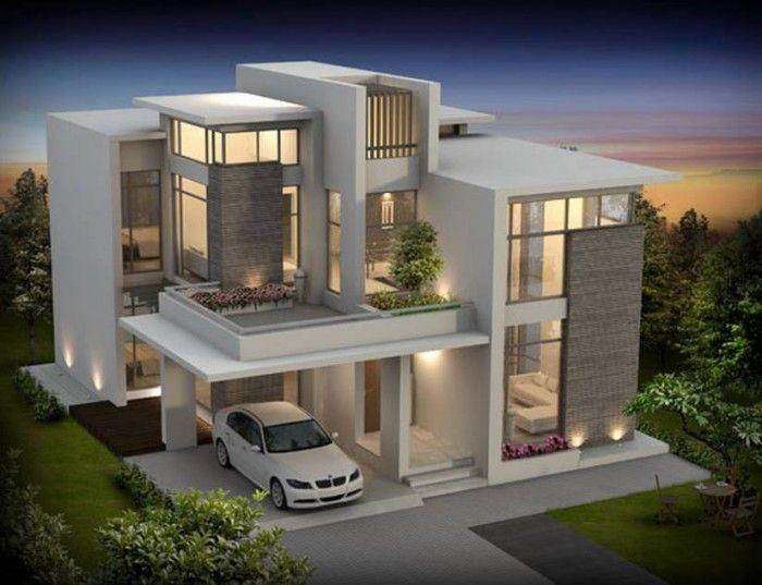 Mind Blowing Luxury Home Plan | Arsitektur modern, Arsitektur .