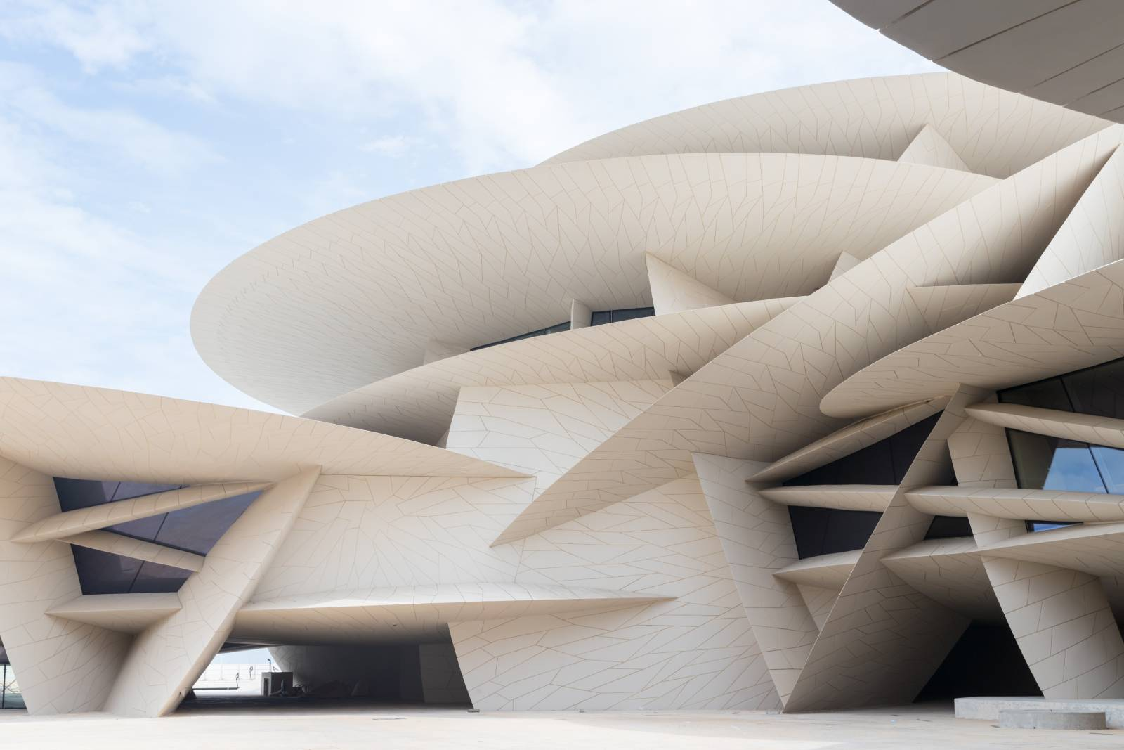 Discover Doha's little architectural   miracle: tradition meets modern