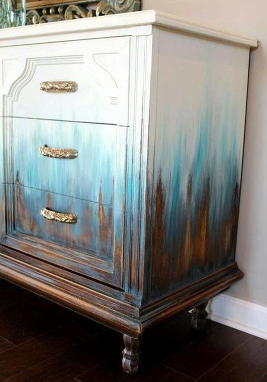 30+ Awesome Distressed Furniture Ideas | Furniture makeover .