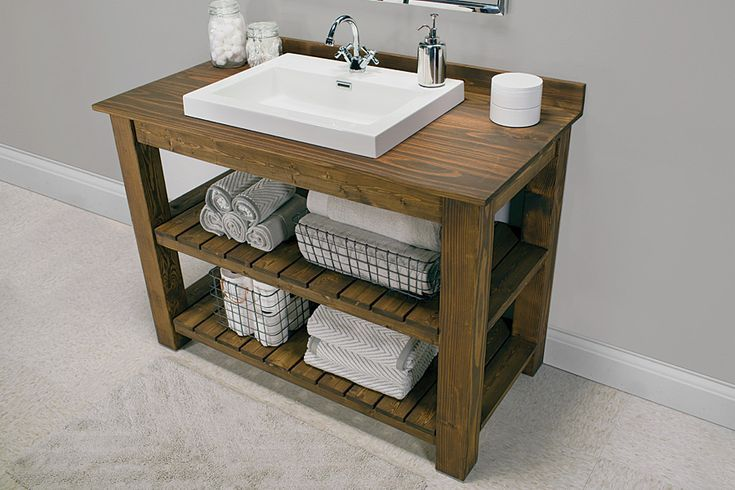 14 DIY Bathroom Vanity Plans You'll Love | Unique bathroom vanity .