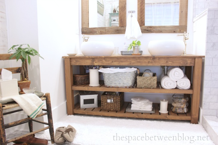 DIY Bathroom Vanity Ideas Perfect For Repurpose