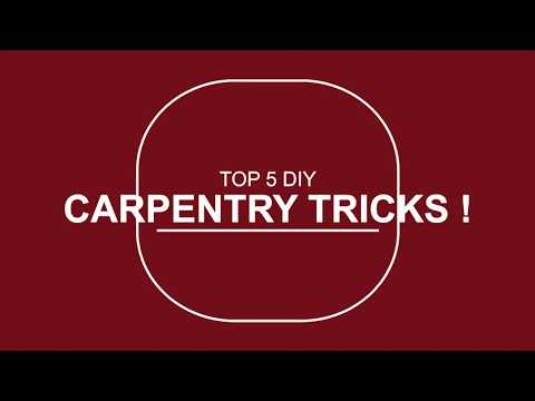 Top 5 DIY Carpentry Tricks ! GOT2LEARN - YouTu