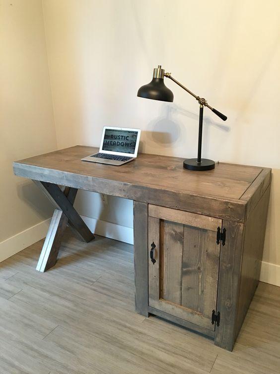 Creative DIY Computer Desk Ideas For Your Home | Diy computer desk .