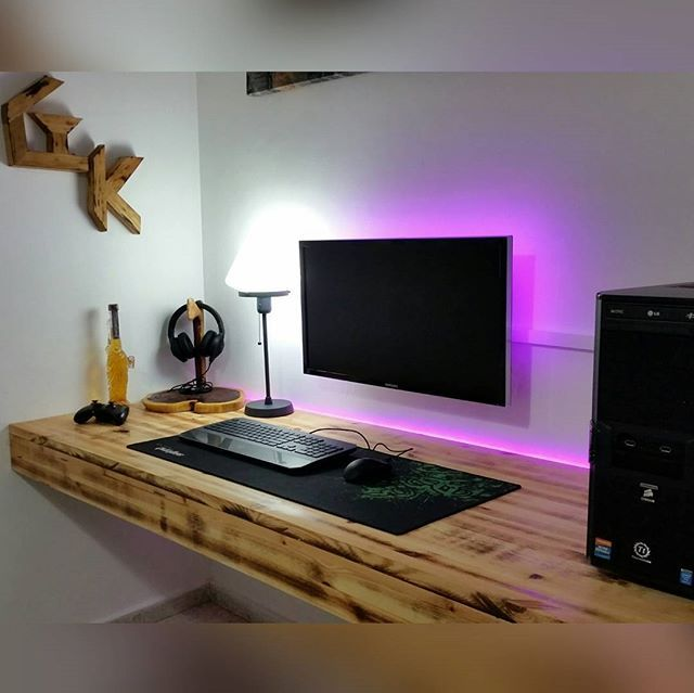 DIY computer desk ideas you could create   now
