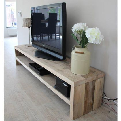10+ DIY TV Stand Ideas You Can Try at Home | Tv stand wood, Tv .