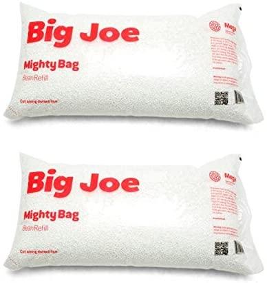 Amazon.com: Big Joe Bean Bag Refill, 2 Pack, White -: Kitchen & Dini