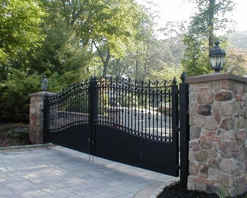 Top 60 Best Driveway Gate Ideas - Wooden And Metal Entrances .