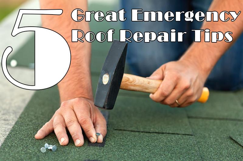 5 Great Emergency Roof Repair Tips - Renco Roofi