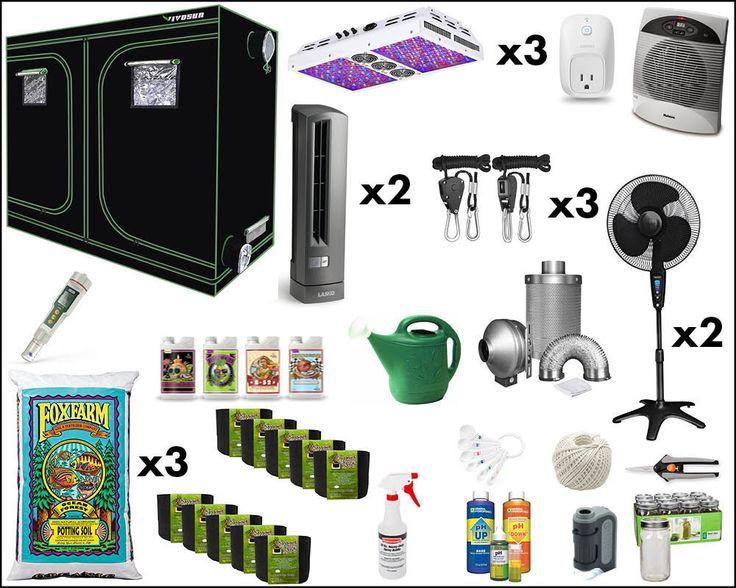 101 of Best Complete Marijuana Grow Tent Kit | Grow Box Kit [2020 .