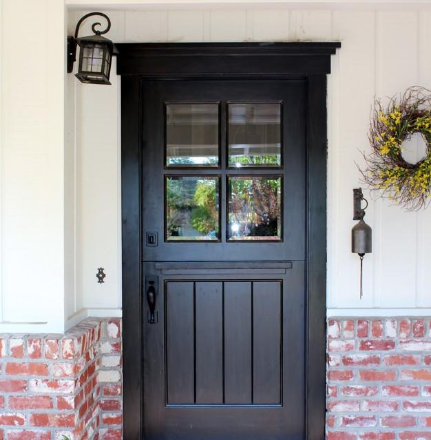 Craftsman Dutch Door - Transitional - Exterior - San Francisco .