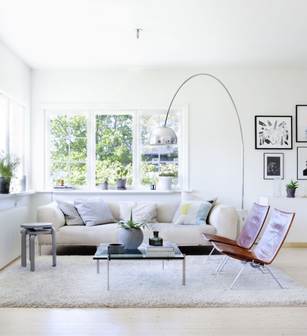 Enhance any room with the Arco lamp