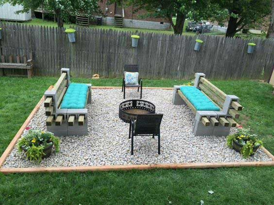 22 Backyard Fire Pit Ideas with Cozy Seating Area .