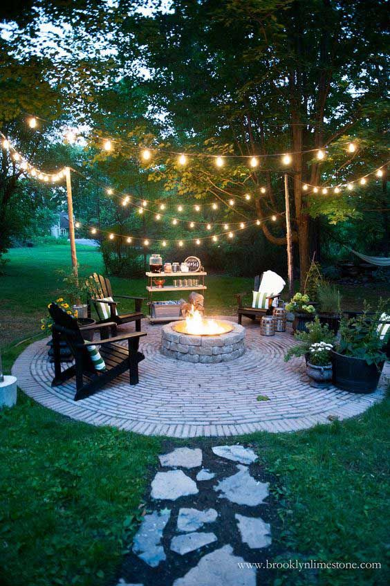 Fire pit ideas for your garden