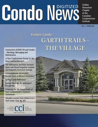 Condo News - Spring 2020 by LS Graphics - iss