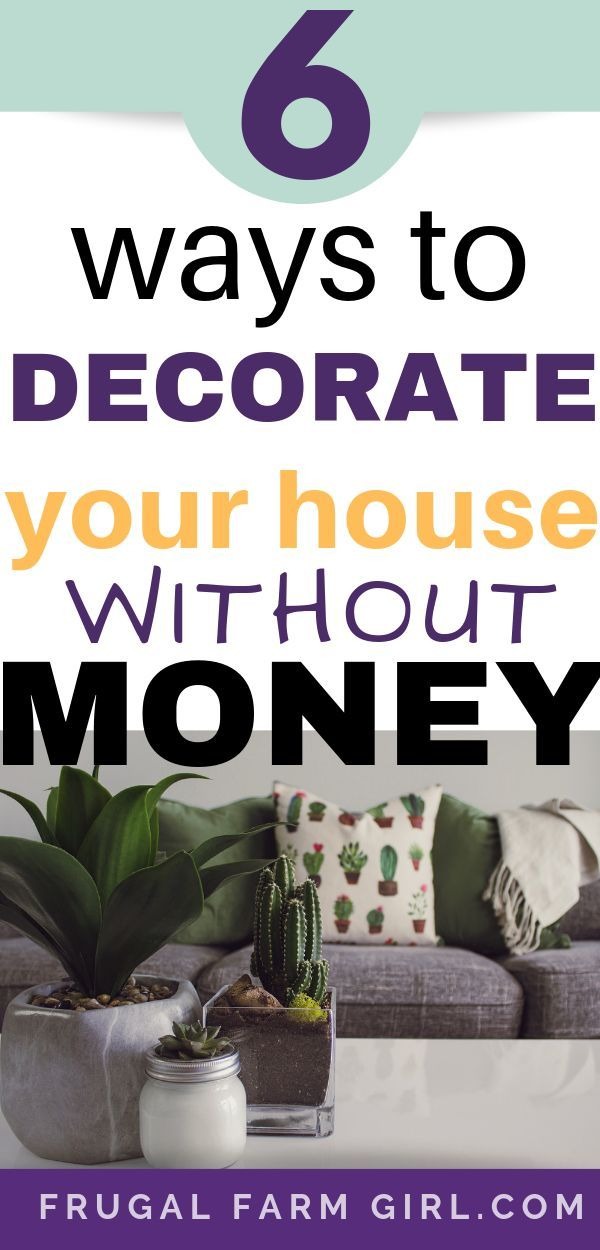 Economical ways to freshen up your home   decor