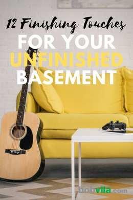 Unfinished Basement Ideas - 9 Affordable Tips - Bob Vi