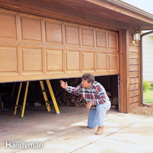 Garage Door Tune-Up | The Family Handym