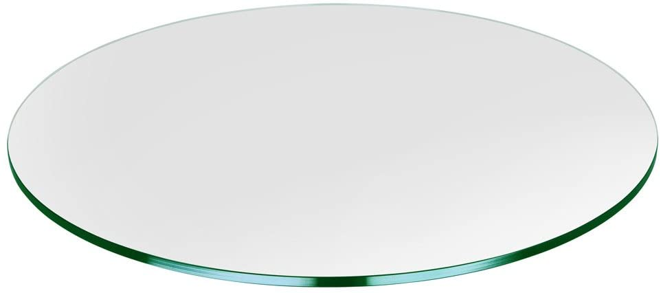 Amazon.com: Round Glass Table Top 25 Inches Custom Annealed Clear .