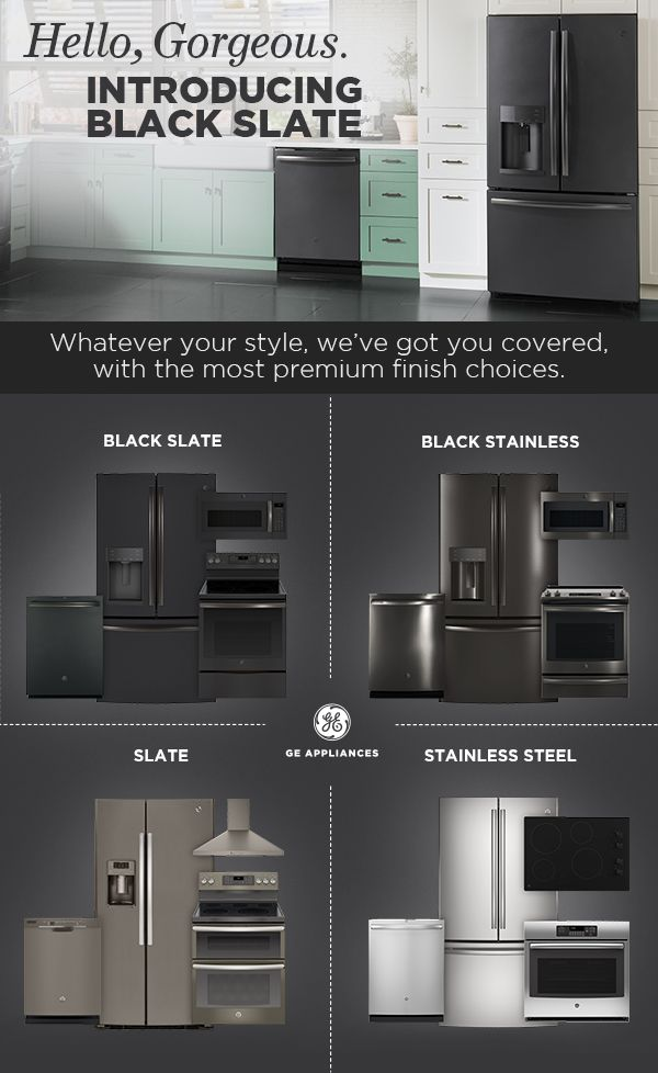 Good selection of appliances to go with a   great home decor
