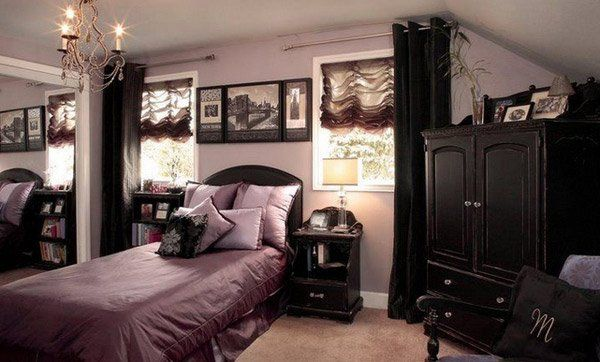 Gothic bedroom ideas.  Impressive designs that will surprise you