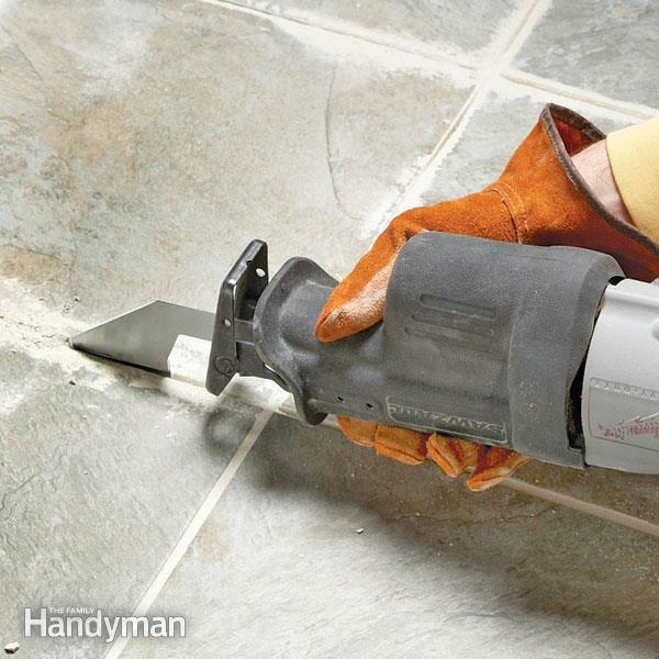 Tips for Removing Grout | The Family Handym