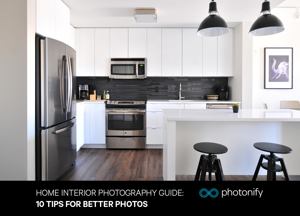 Instructions for photographing the   interior design