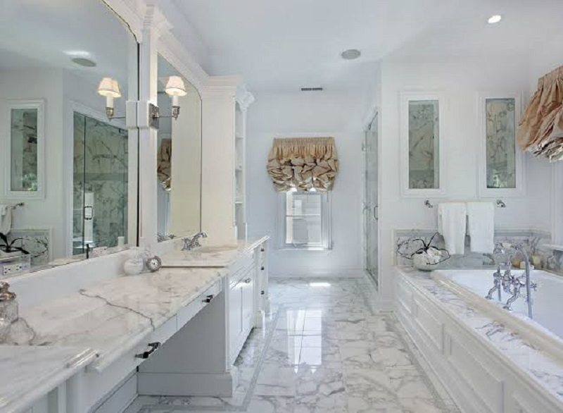 Instructions for choosing bathroom   worktops