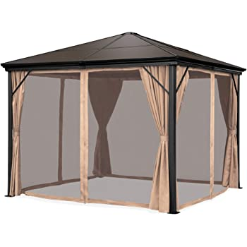 Amazon.com : Best Choice Products 10x10ft Outdoor Aluminum Frame .