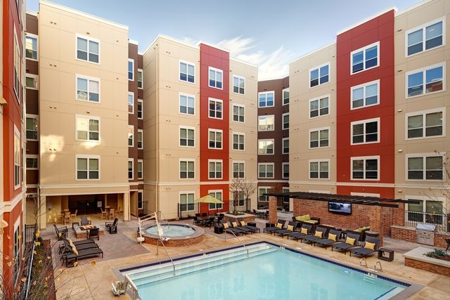 13th and Olive - We have 2 Year round heated pools - This luxury .